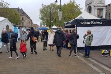 Bolton town markets